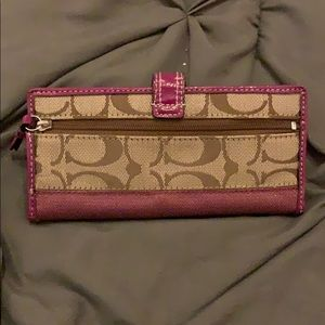Coach Bags - Coach wallet - rare color - brand new with tags